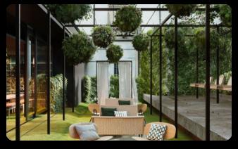 Terraza residencial
